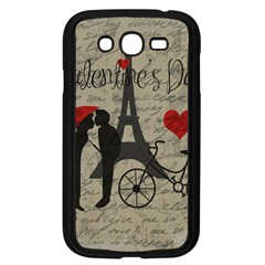 Love Letter   Paris Samsung Galaxy Grand Duos I9082 Case (black)
