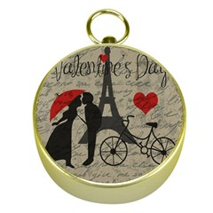Love letter - Paris Gold Compasses