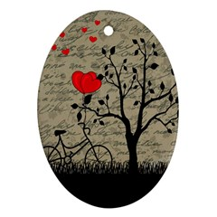 Love letter Ornament (Oval)