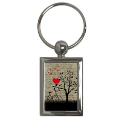 Love letter Key Chains (Rectangle)