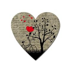 Love letter Heart Magnet