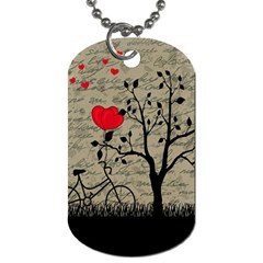 Love letter Dog Tag (Two Sides)