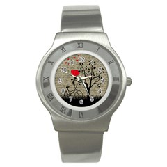 Love letter Stainless Steel Watch