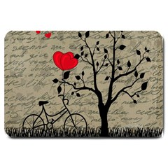 Love letter Large Doormat