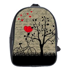 Love letter School Bags(Large)