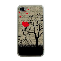 Love letter Apple iPhone 4 Case (Clear)
