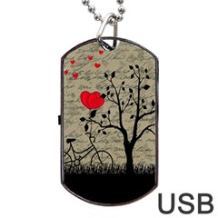 Love letter Dog Tag USB Flash (Two Sides)