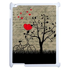 Love letter Apple iPad 2 Case (White)