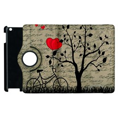 Love letter Apple iPad 2 Flip 360 Case