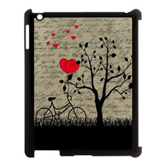 Love letter Apple iPad 3/4 Case (Black)