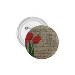 Vintage tulips 1.75  Buttons