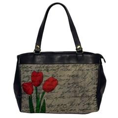 Vintage tulips Office Handbags