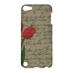 Vintage tulips Apple iPod Touch 5 Hardshell Case