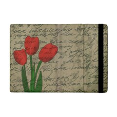 Vintage tulips Apple iPad Mini Flip Case