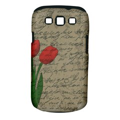 Vintage tulips Samsung Galaxy S III Classic Hardshell Case (PC+Silicone)
