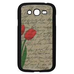 Vintage tulips Samsung Galaxy Grand DUOS I9082 Case (Black)