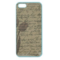Vintage tulips Apple Seamless iPhone 5 Case (Color)