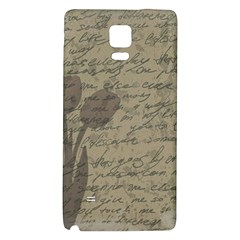 Vintage Tulips Galaxy Note 4 Back Case