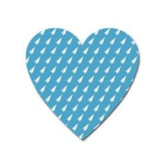 Air Pattern Heart Magnet