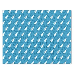 Air Pattern Rectangular Jigsaw Puzzl
