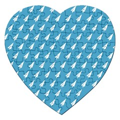 Air Pattern Jigsaw Puzzle (Heart)