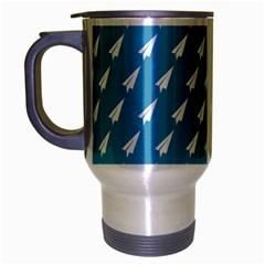 Air Pattern Travel Mug (Silver Gray)