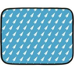 Air Pattern Double Sided Fleece Blanket (Mini)