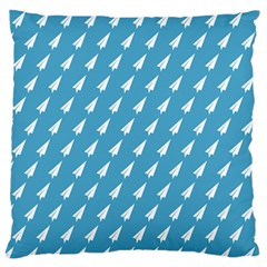 Air Pattern Large Flano Cushion Case (One Side)