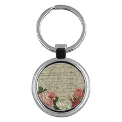 Vintage roses Key Chains (Round)