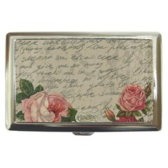 Vintage roses Cigarette Money Cases