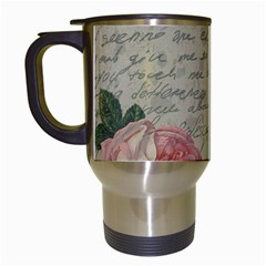 Vintage roses Travel Mugs (White)