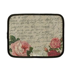 Vintage roses Netbook Case (Small)