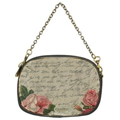Vintage roses Chain Purses (Two Sides)