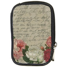 Vintage roses Compact Camera Cases