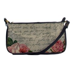 Vintage roses Shoulder Clutch Bags