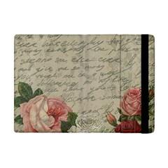 Vintage roses Apple iPad Mini Flip Case