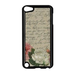 Vintage roses Apple iPod Touch 5 Case (Black)