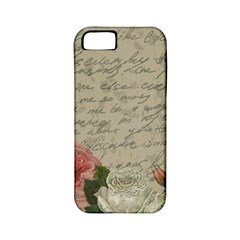 Vintage roses Apple iPhone 5 Classic Hardshell Case (PC+Silicone)
