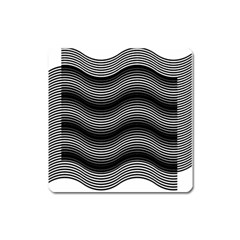 Two Layers Consisting Of Curves With Identical Inclination Patterns Square Magnet