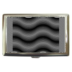 Two Layers Consisting Of Curves With Identical Inclination Patterns Cigarette Money Cases