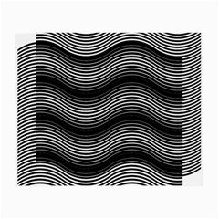Two Layers Consisting Of Curves With Identical Inclination Patterns Small Glasses Cloth
