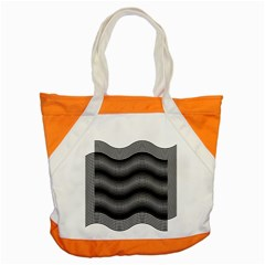 Two Layers Consisting Of Curves With Identical Inclination Patterns Accent Tote Bag