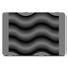 Two Layers Consisting Of Curves With Identical Inclination Patterns Large Doormat
