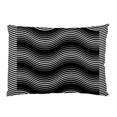 Two Layers Consisting Of Curves With Identical Inclination Patterns Pillow Case