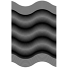 Two Layers Consisting Of Curves With Identical Inclination Patterns 5 5  X 8 5  Notebooks