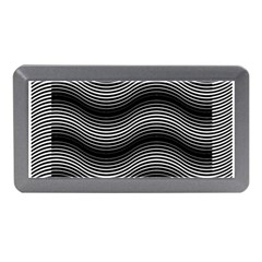 Two Layers Consisting Of Curves With Identical Inclination Patterns Memory Card Reader (Mini)
