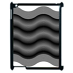 Two Layers Consisting Of Curves With Identical Inclination Patterns Apple Ipad 2 Case (black)