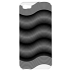 Two Layers Consisting Of Curves With Identical Inclination Patterns Apple Iphone 5 Hardshell Case