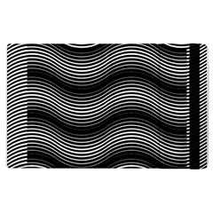 Two Layers Consisting Of Curves With Identical Inclination Patterns Apple iPad 2 Flip Case