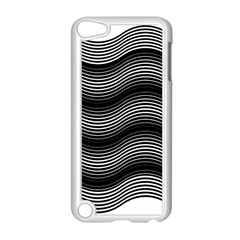 Two Layers Consisting Of Curves With Identical Inclination Patterns Apple iPod Touch 5 Case (White)